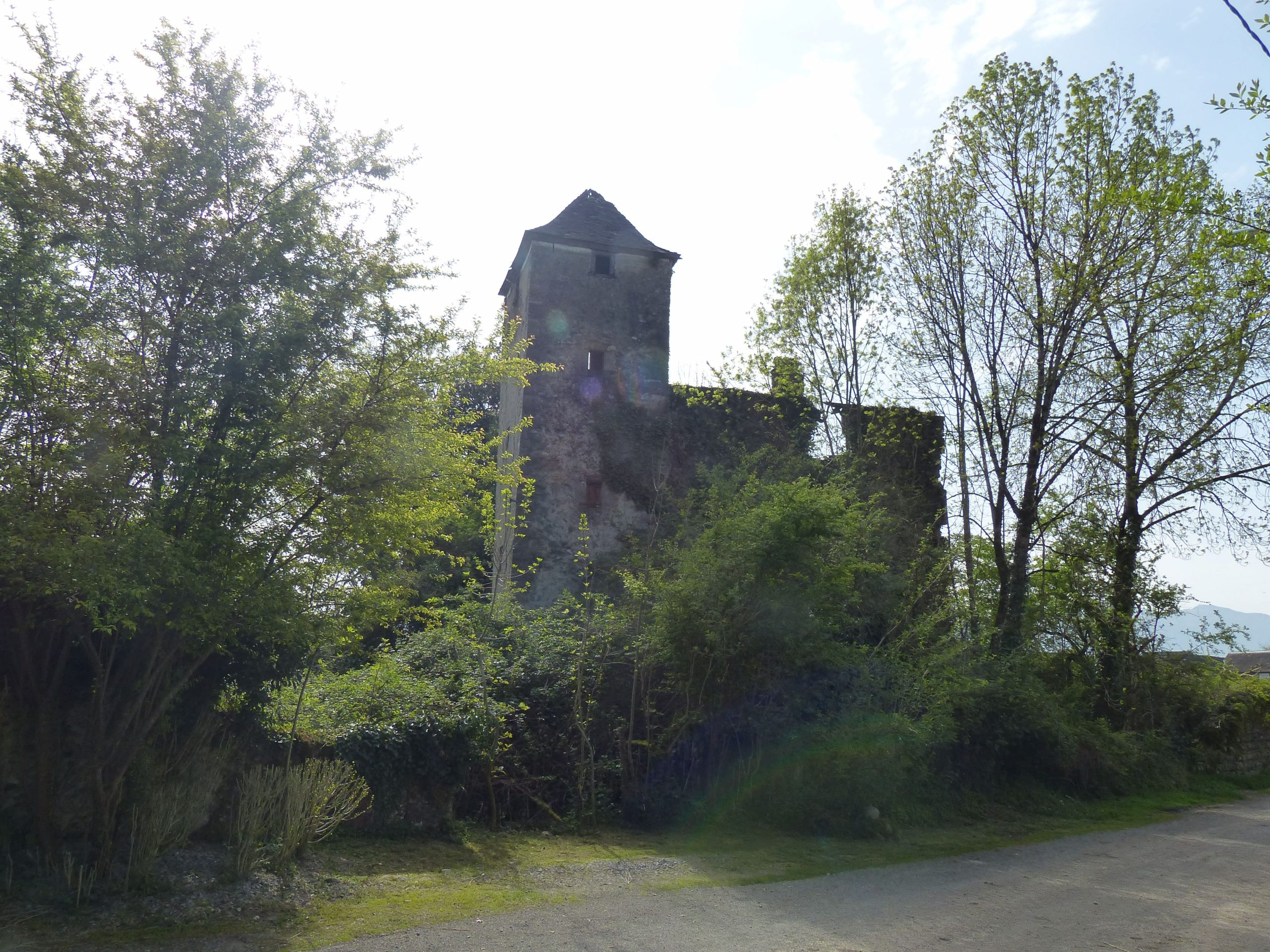 Ruines du Château Bazerques